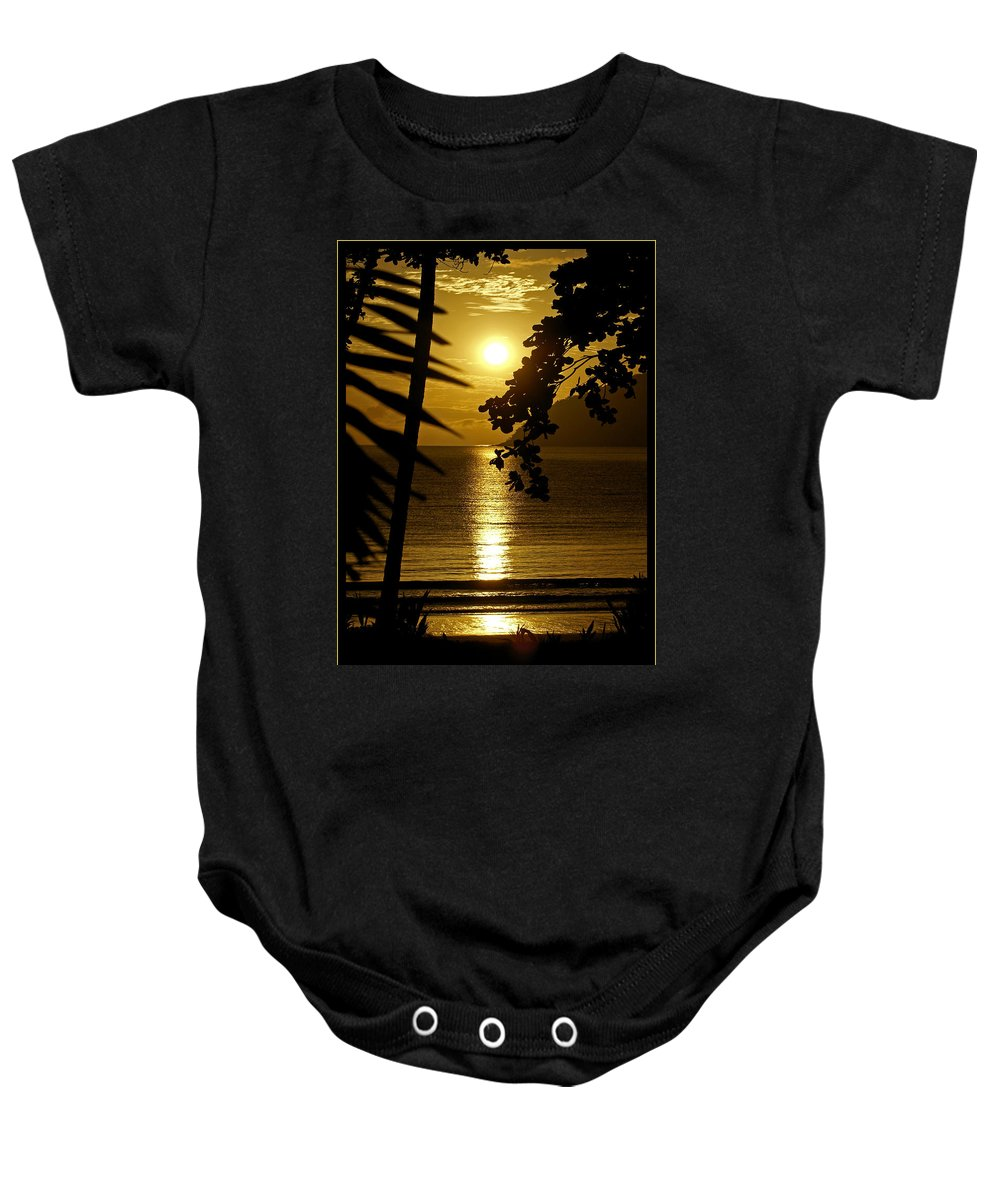 Landscapes Baby Onesie featuring the photograph Shimmer by Holly Kempe