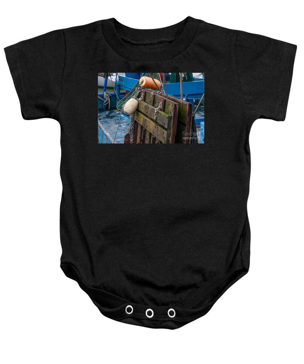 Tools Baby Onesie featuring the photograph Shrimping Tools by Dale Powell