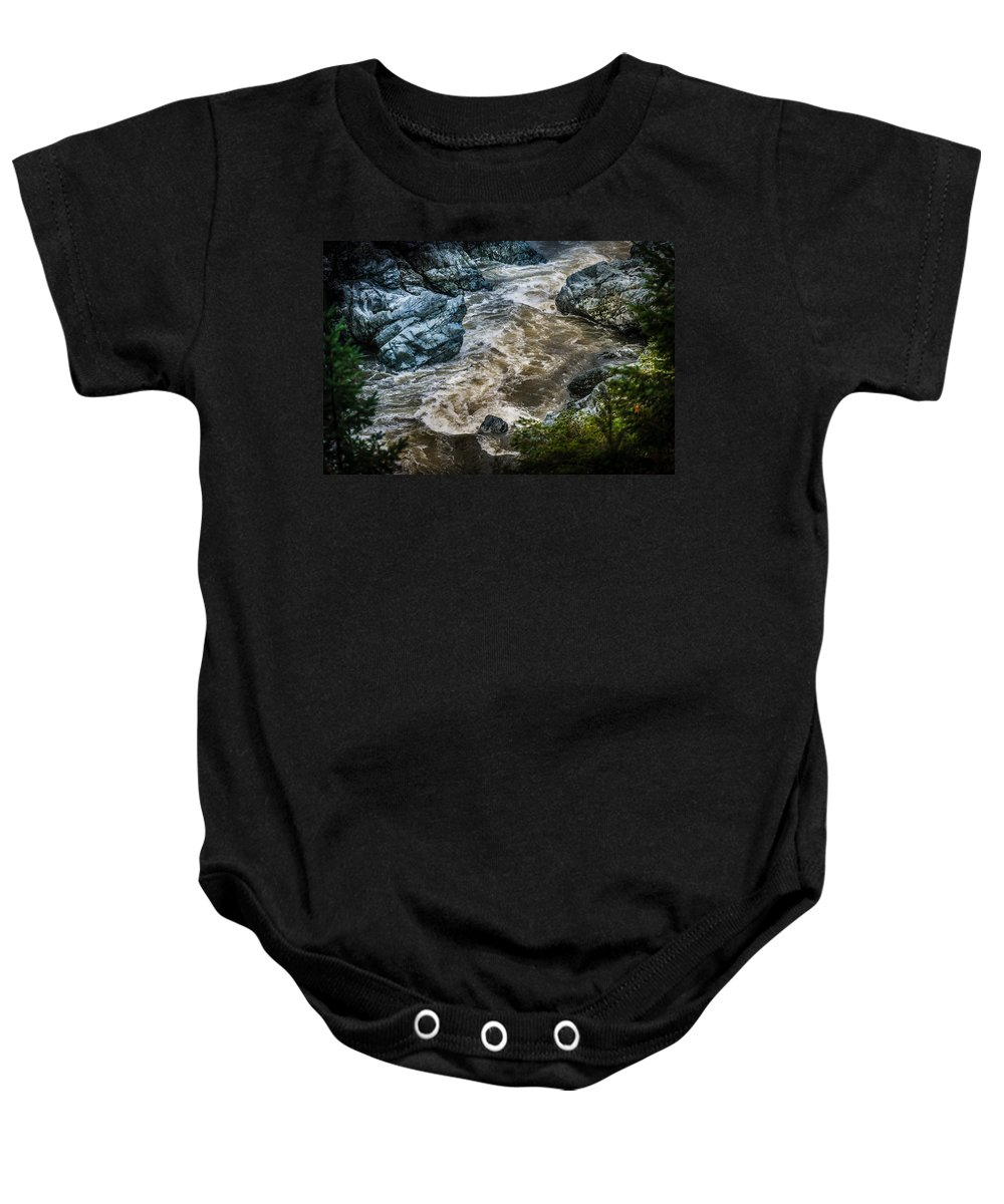 Copyrighted Baby Onesie featuring the photograph Smith River by Mike Penney