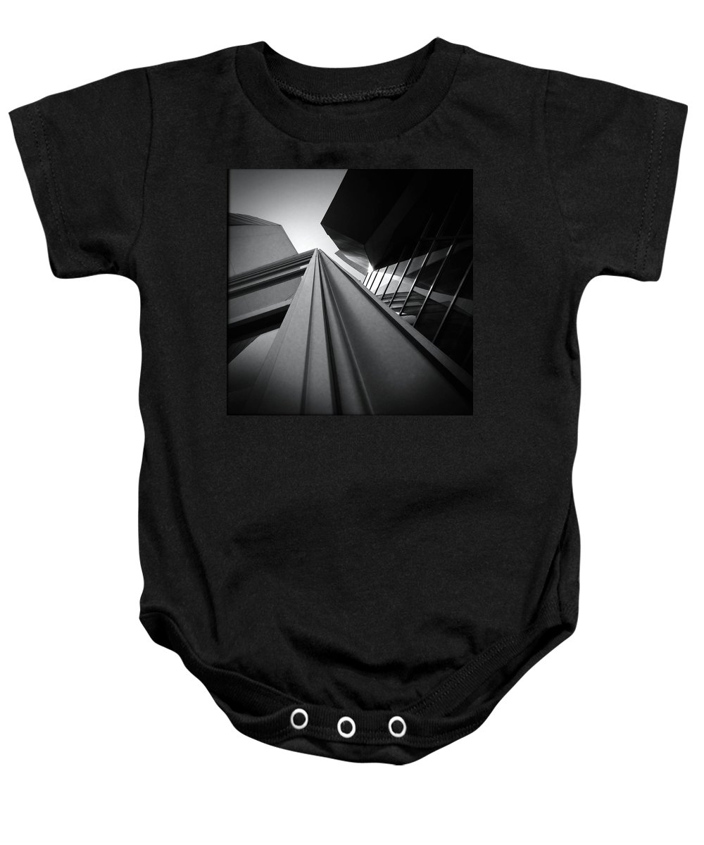 Architecture Baby Onesie featuring the photograph Soaring Planes by Mark David Gerson