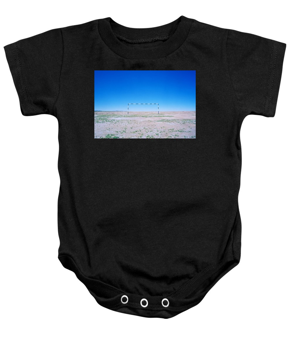 Inspiration Baby Onesie featuring the photograph Field Of Dreams by Shaun Higson