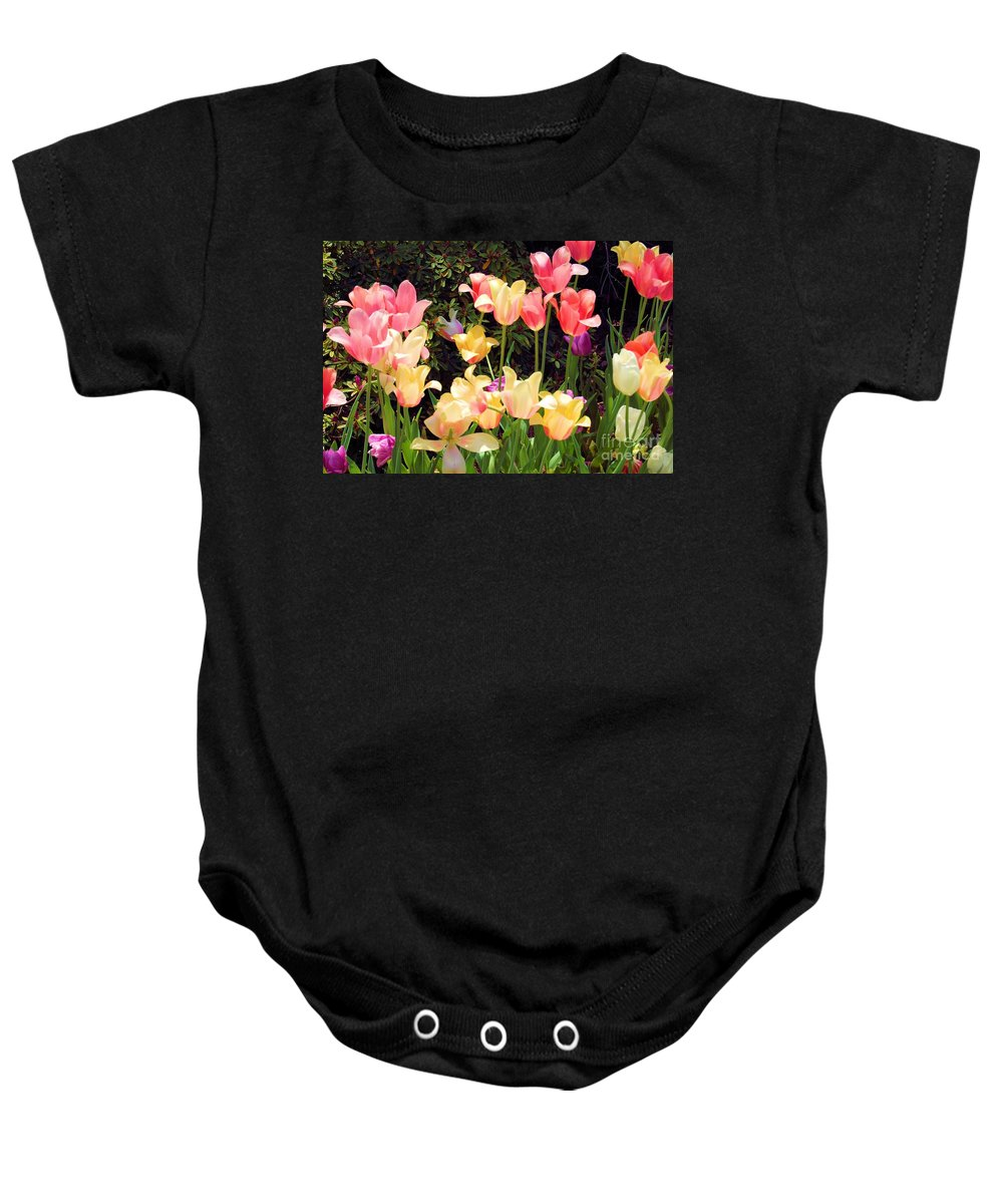 Fine Art Photography Baby Onesie featuring the photograph Soft Spring Colors by Nicholas Costanzo