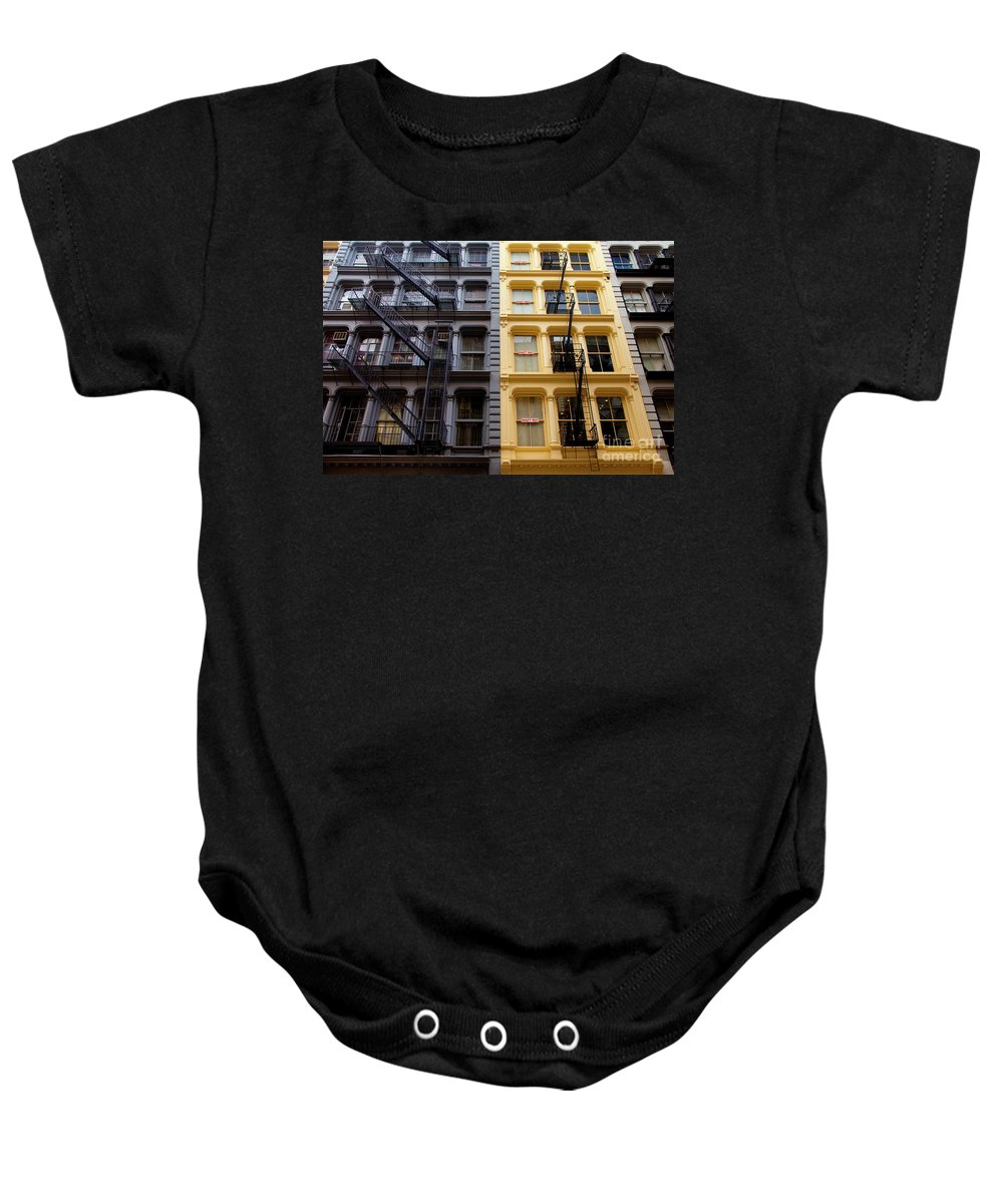 Soho Baby Onesie featuring the photograph Soho New York by Brian Jannsen