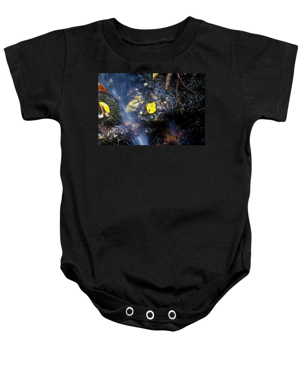 Fine Art Baby Onesie featuring the photograph Solo by Rodney Lee Williams