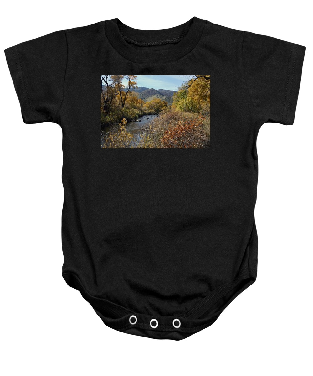 South Platte Baby Onesie featuring the photograph South Platte by Ben Zell