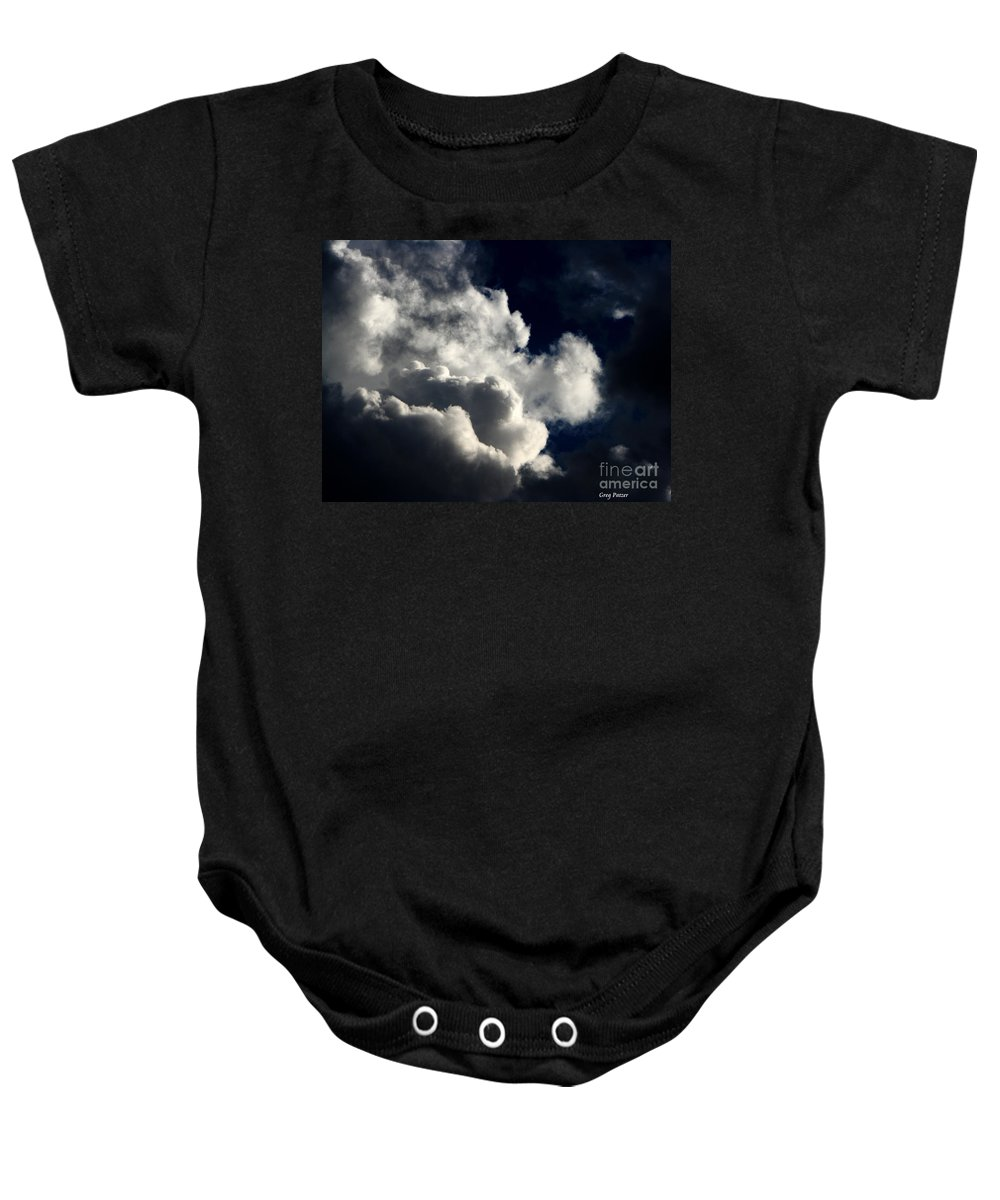 Art For The Wall...patzer Photography Baby Onesie featuring the photograph Spiritual by Greg Patzer