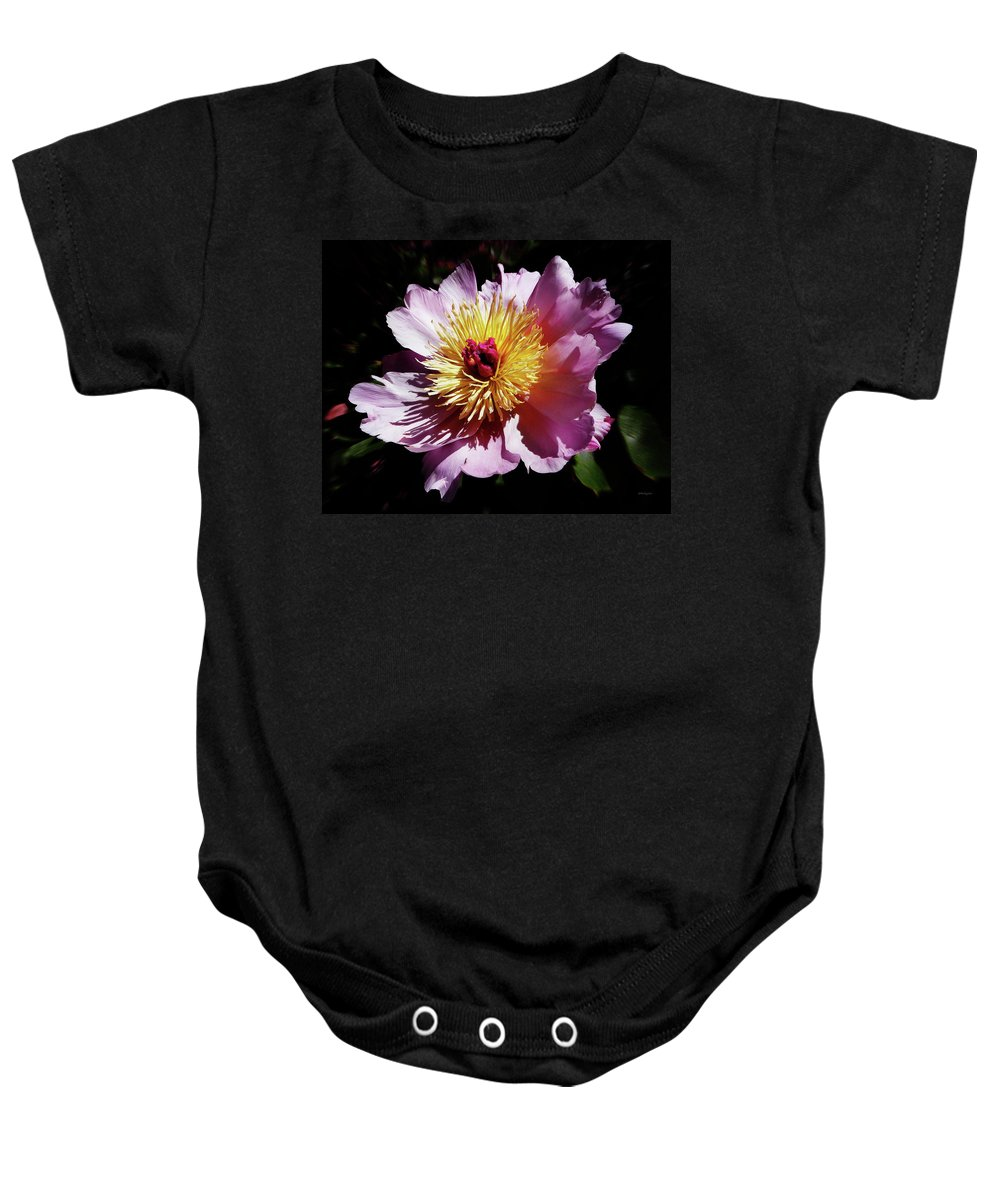Peony Baby Onesie featuring the photograph Spring Blossom 12 by Xueling Zou