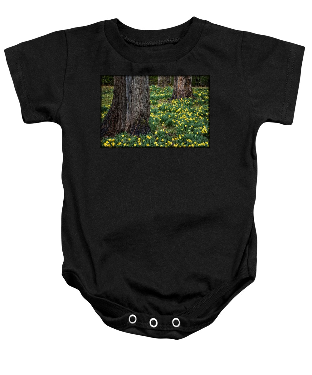 Flowers Baby Onesie featuring the photograph Spring Prayers E184 by Wendell Franks
