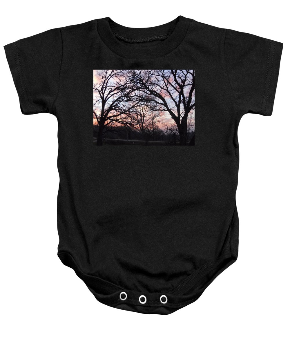 Trees Baby Onesie featuring the photograph Square Dancing by Coleen Harty
