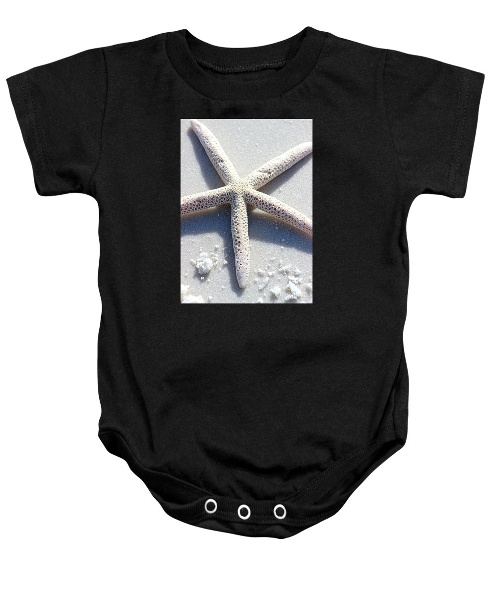 Beach Baby Onesie featuring the photograph Starfish by Gayle Miller