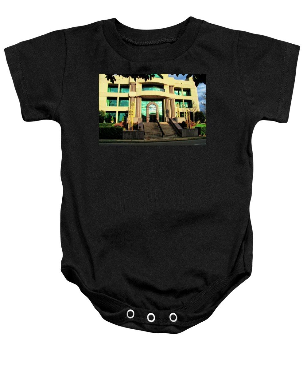 Starstruck Studios In Nashville Tennessee Baby Onesie featuring the photograph Starstruck Studios In Nashville Tennessee by Dan Sproul