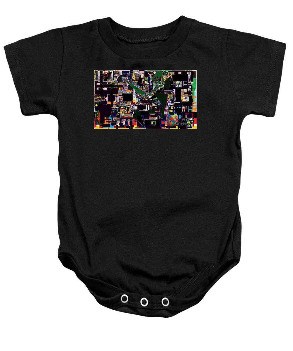 Torah Baby Onesie featuring the digital art Wiping Out The Language Of Amalek 17 by David Baruch Wolk
