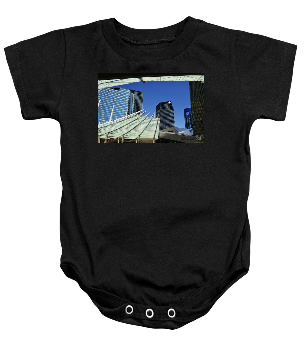 Las Vegas Baby Onesie featuring the photograph Steel Frame by See My Photos