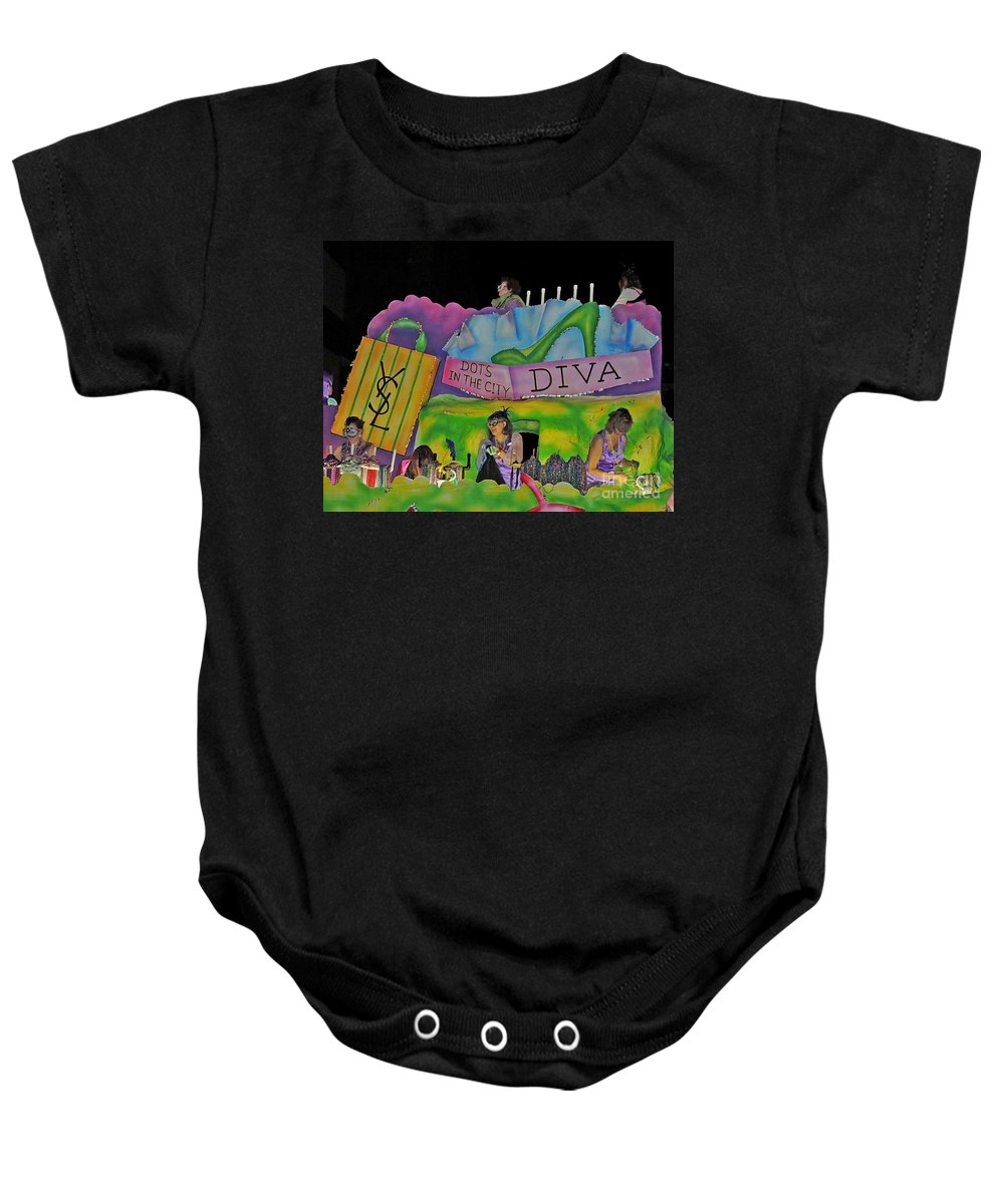 Photograph Baby Onesie featuring the photograph Stiletto Heels by Marian Bell