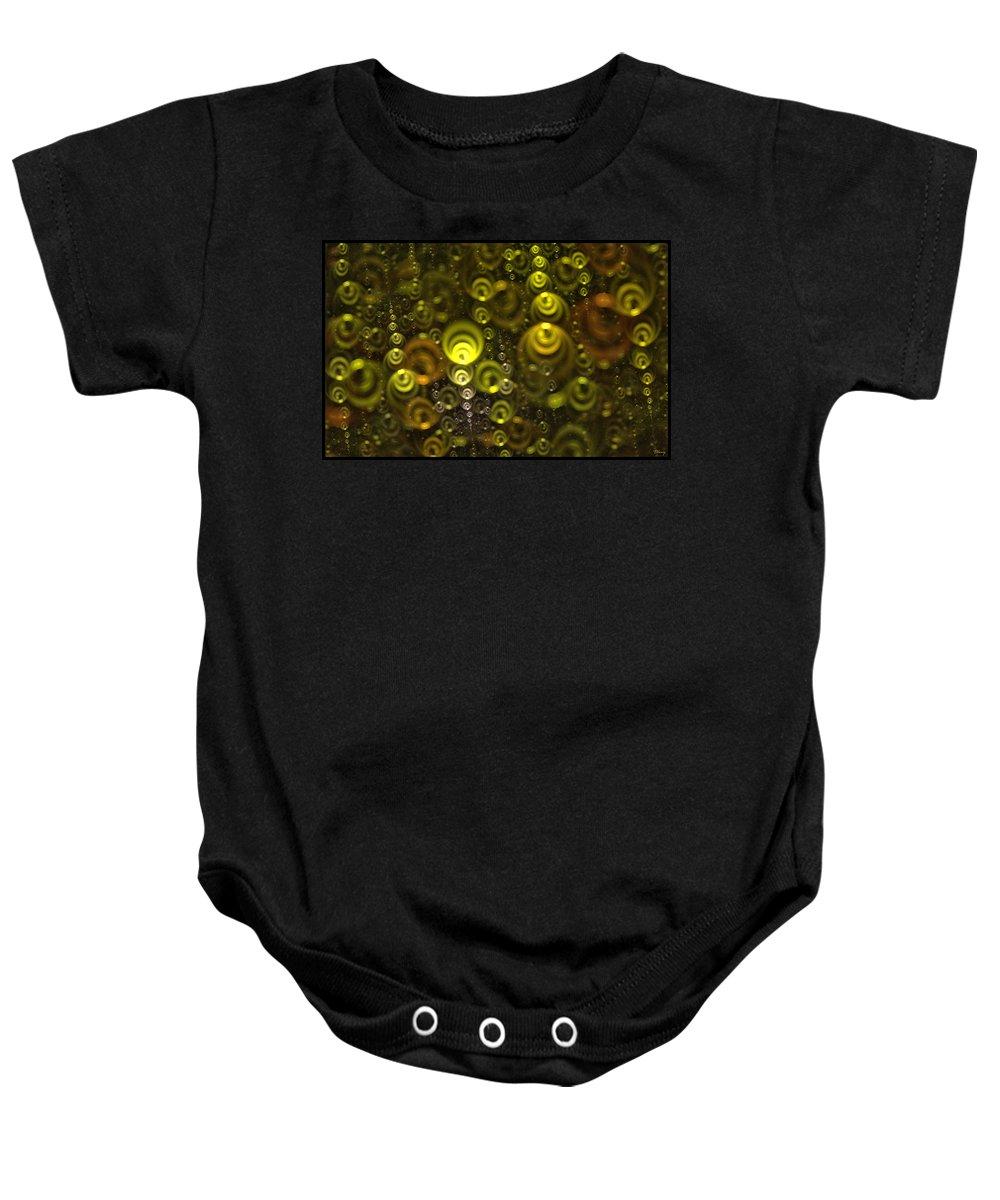 Stream Baby Onesie featuring the digital art Streams Of Dreams by Brian Kenney