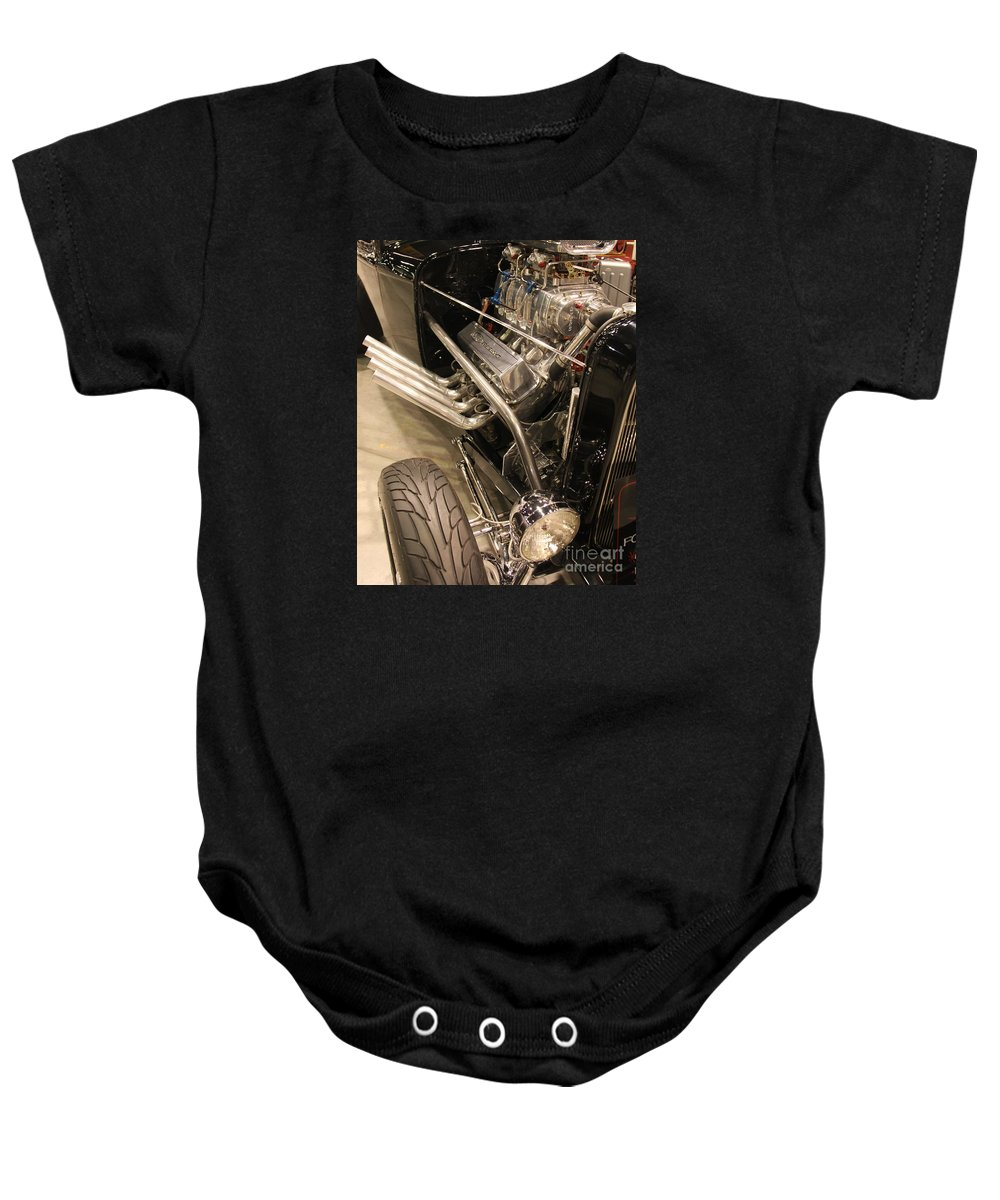 Street Cars Baby Onesie featuring the photograph Street Car Racer by Catherine Balfe