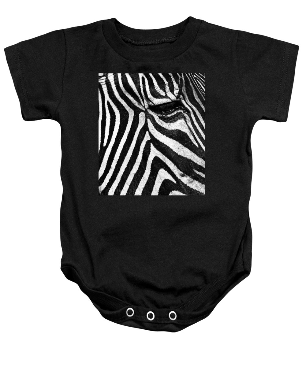 Nature Baby Onesie featuring the photograph Stripes by Claudio Bacinello