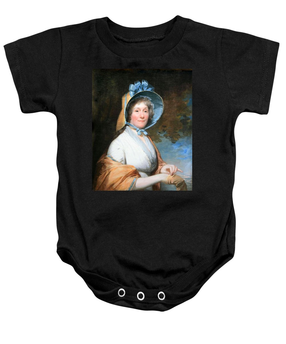 Henrietta Marchant Liston Baby Onesie featuring the photograph Stuart's Henrietta Marchant Liston Or Mrs. Robert Liston by Cora Wandel