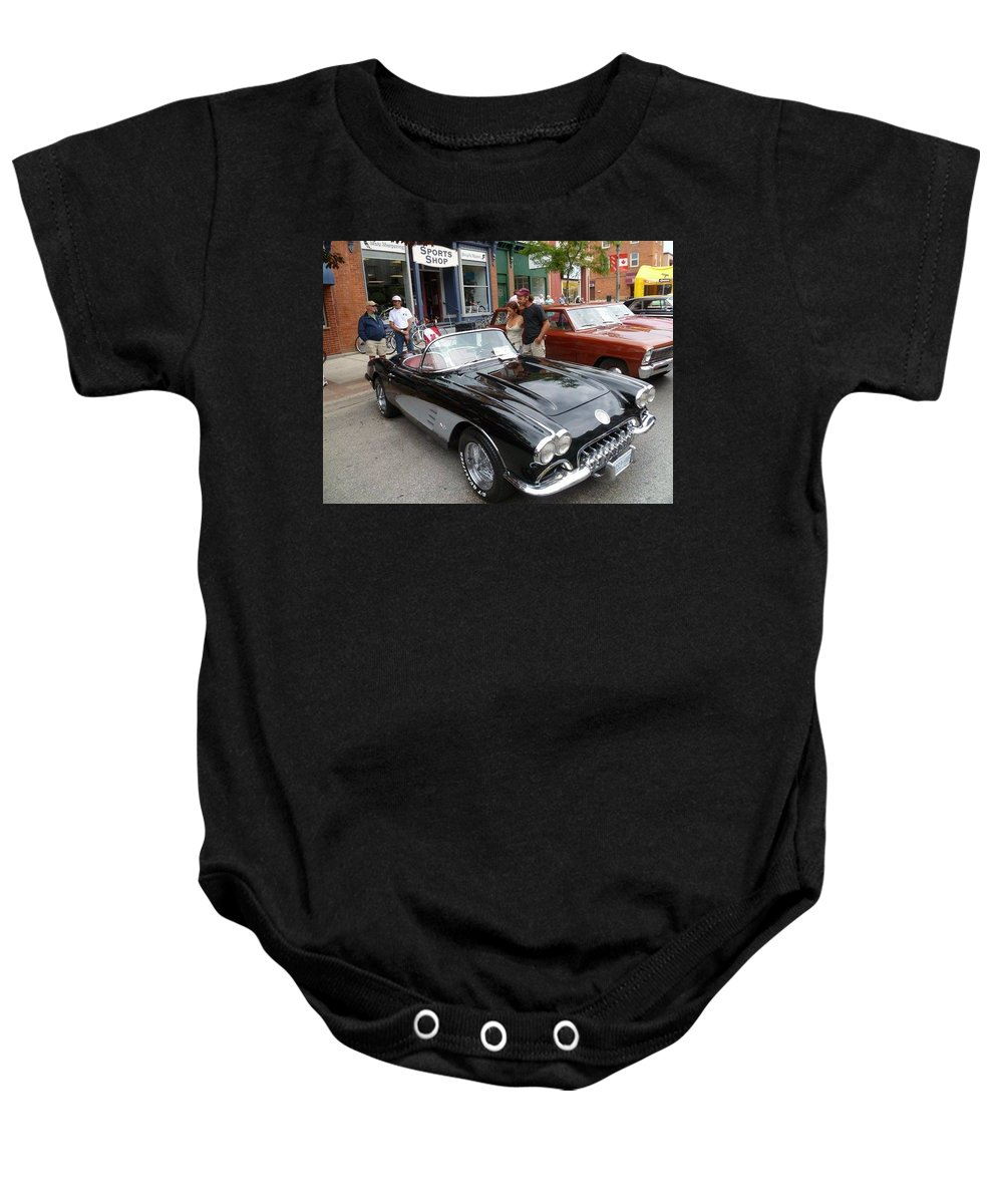 Car Baby Onesie featuring the photograph Stylish Convertible by Lingfai Leung
