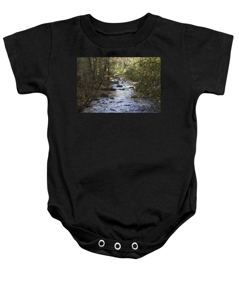 Magnolia Baby Onesie featuring the photograph Sugar Magnolia by Michael J Samuels