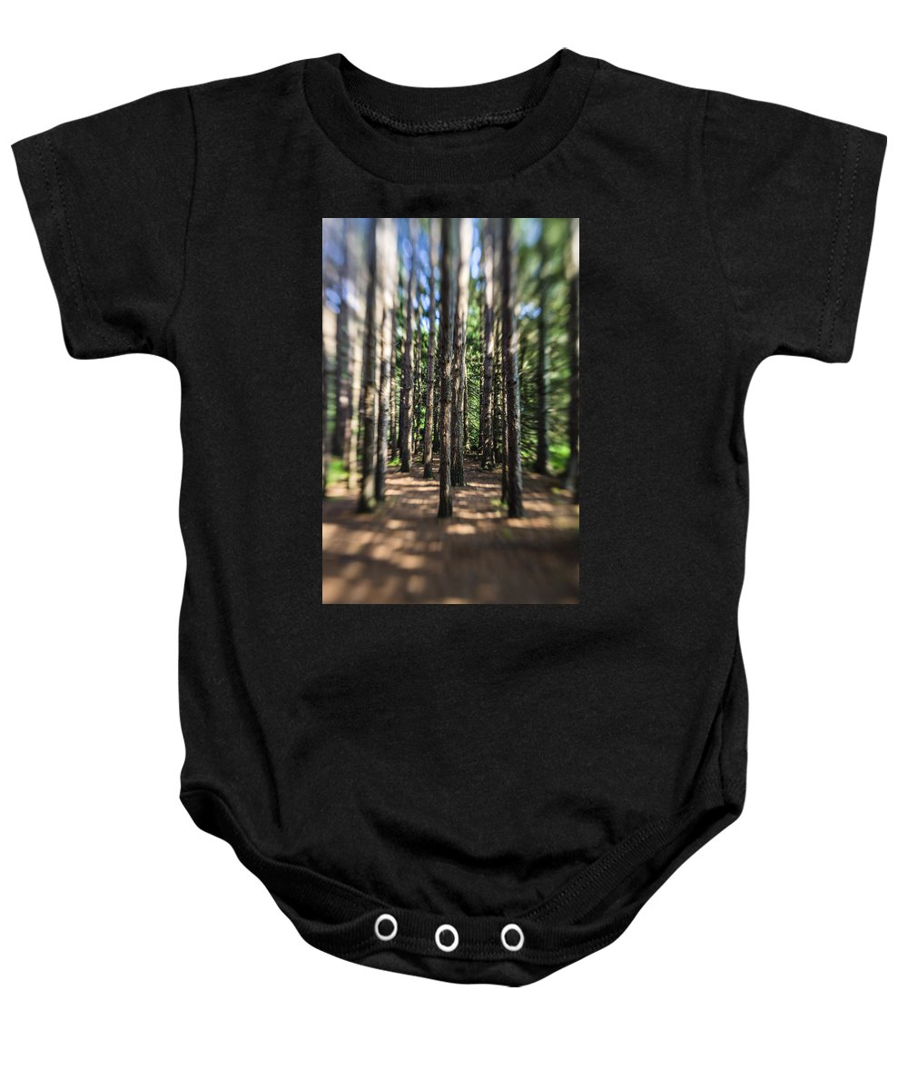 Water Baby Onesie featuring the photograph Surreal Forest by Alex Potemkin