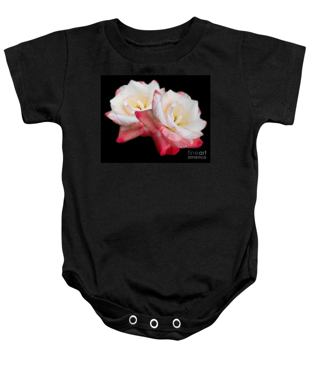 Rose Baby Onesie featuring the photograph Take Two by TN Fairey