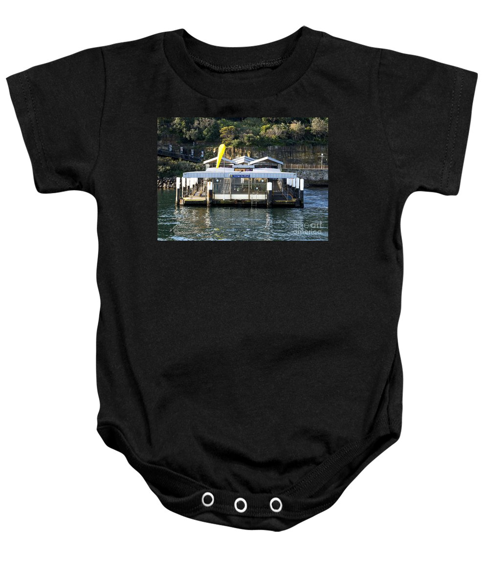 Australia Baby Onesie featuring the photograph Taronga Zoo Wharf by Steven Ralser
