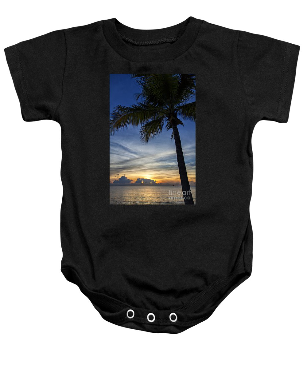 Bay Baby Onesie featuring the photograph Thailand Sunset Sunrise by Sophie McAulay