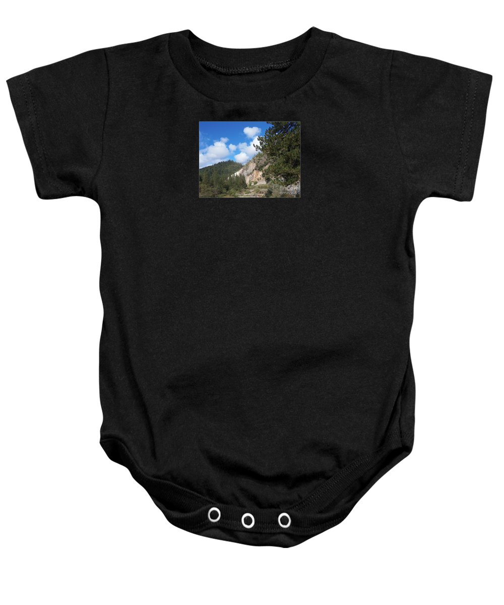 Acrylic Prints Baby Onesie featuring the photograph Clouds Of Hearts by Bobbee Rickard