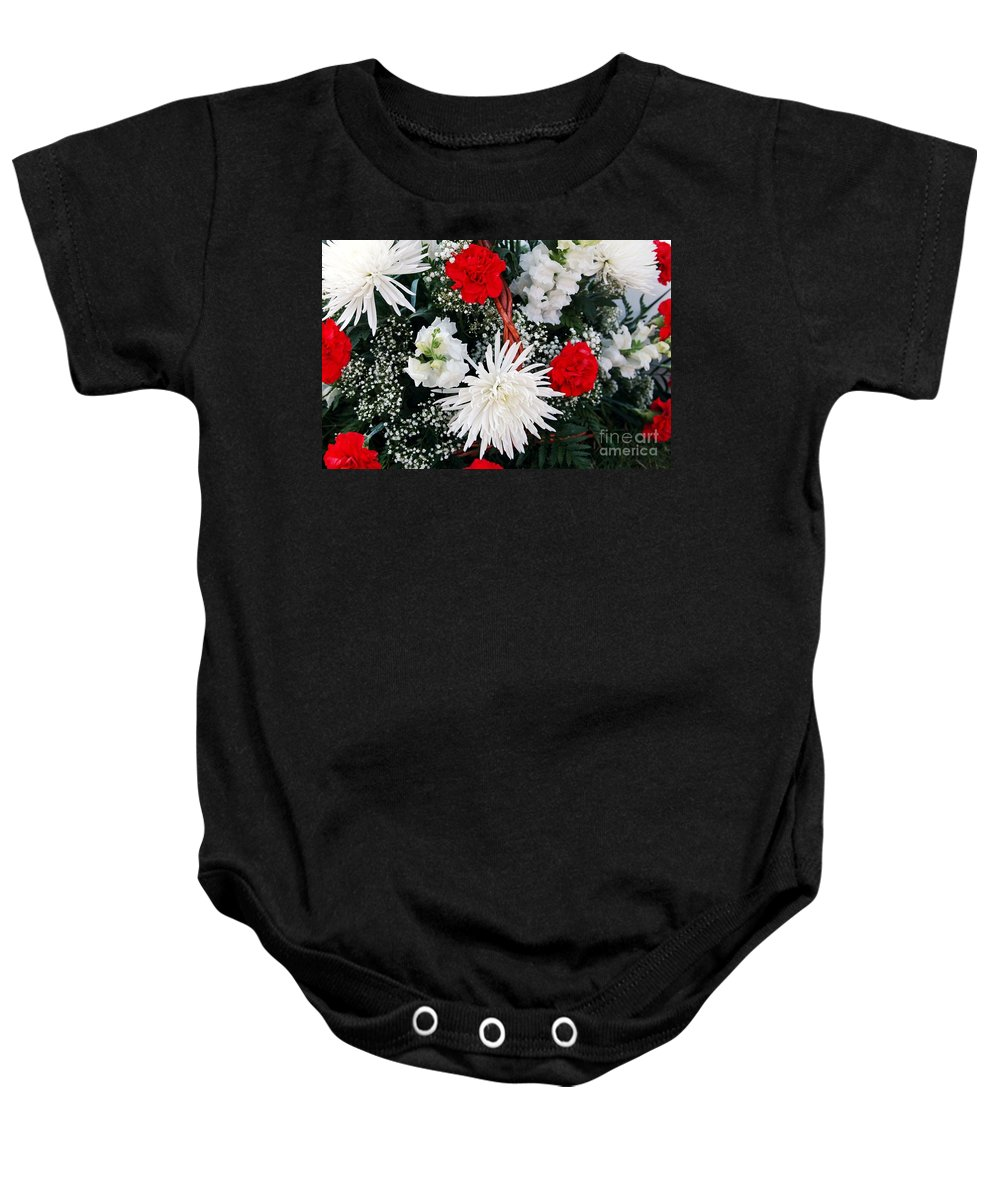 Mum Baby Onesie featuring the photograph Thank You by Kathleen Struckle
