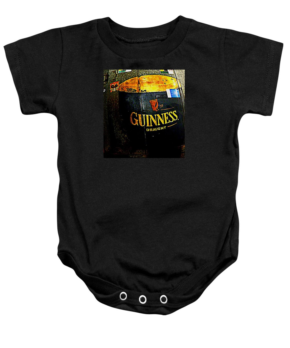Cooler Baby Onesie featuring the photograph The Cooler by Chris Berry