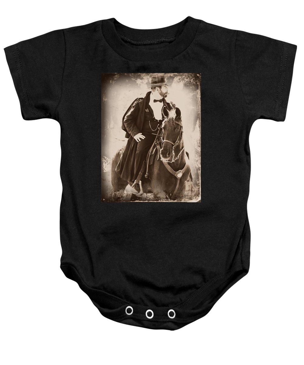 General Baby Onesie featuring the photograph The General by Alice Gipson
