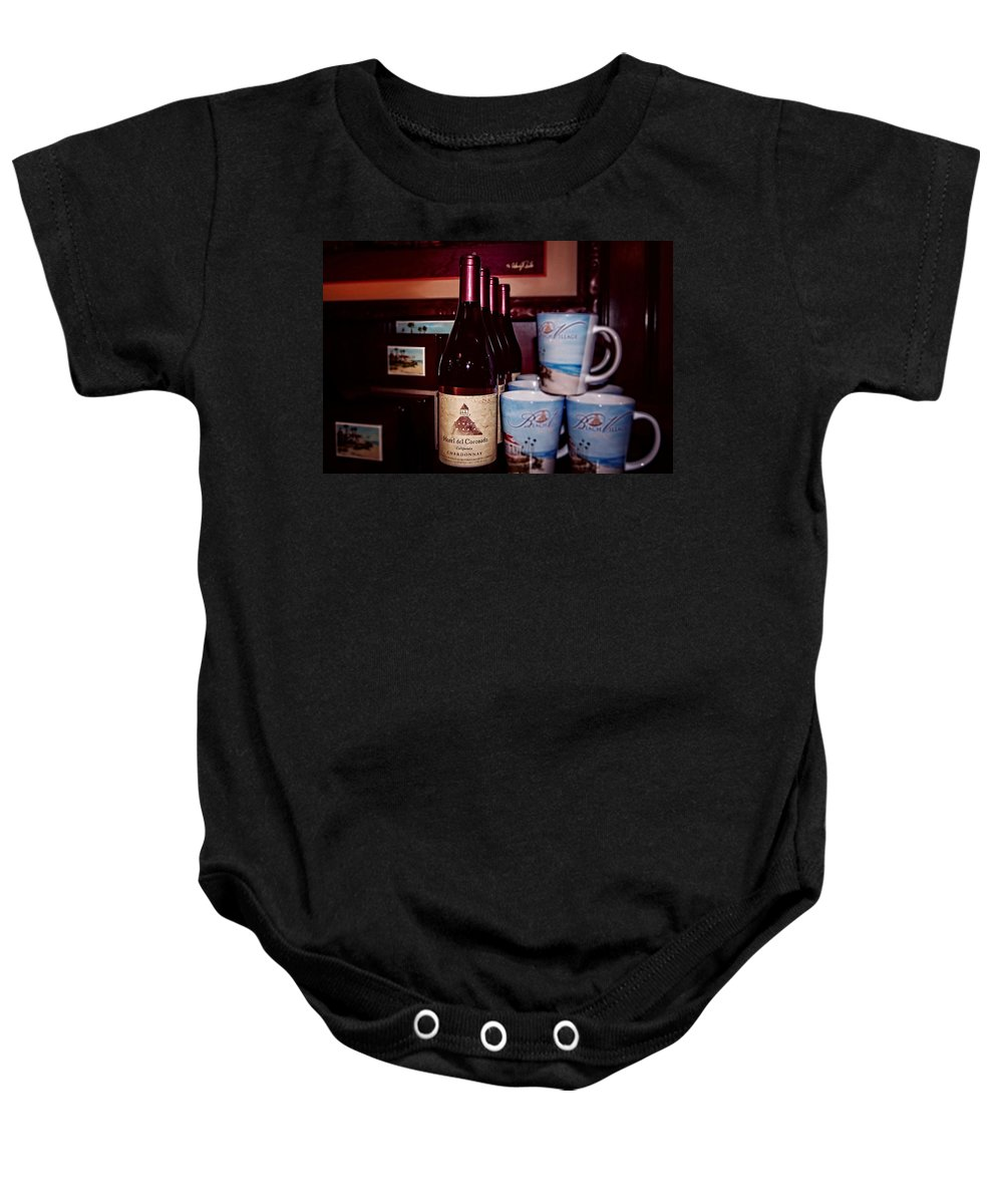 The Gift Shop Baby Onesie featuring the photograph The Gift Shop by See My Photos