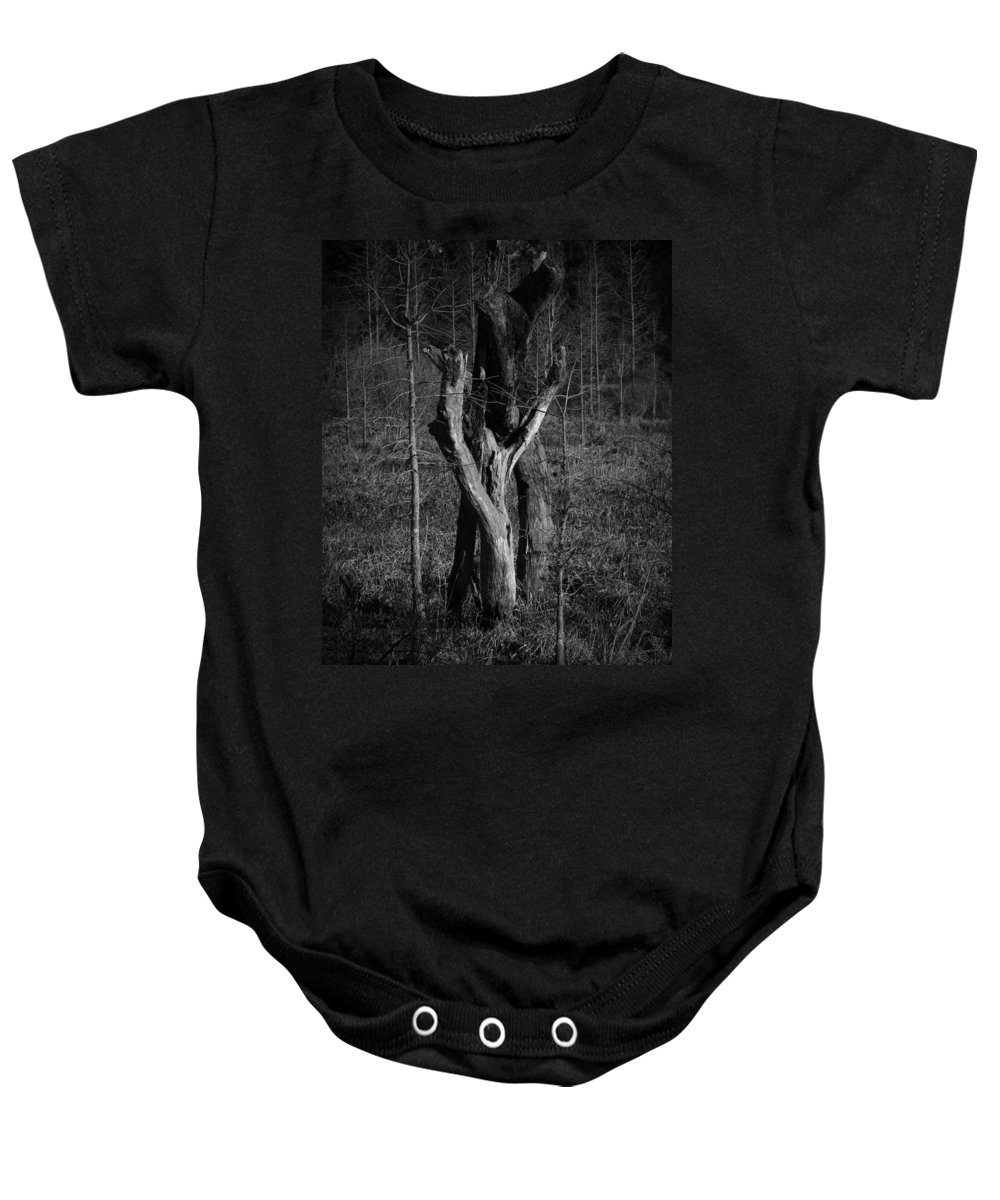 Black Baby Onesie featuring the photograph The Lovers Number 2 by Phil Penne