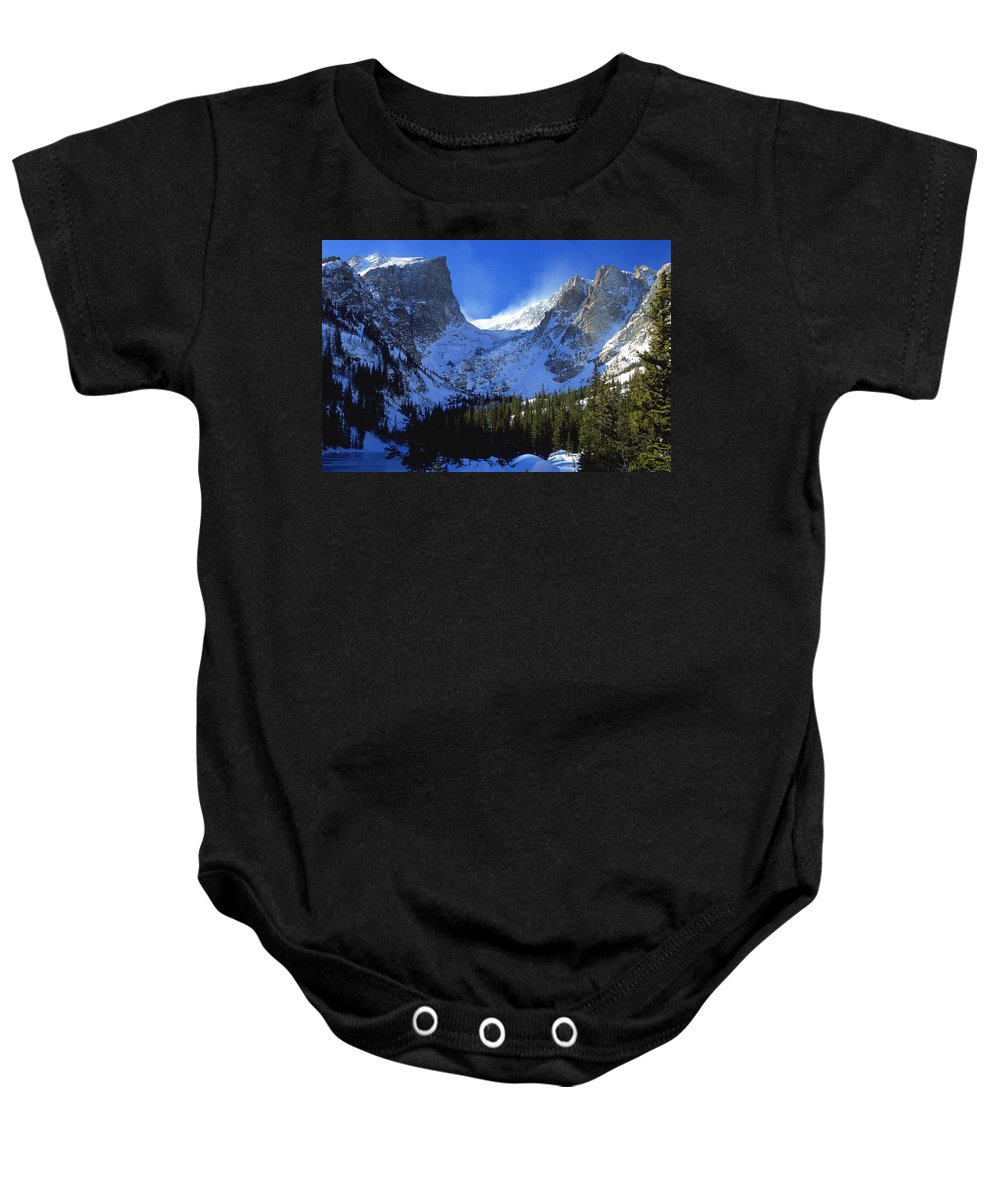 Colorado Baby Onesie featuring the photograph The Power And The Glory by Eric Glaser