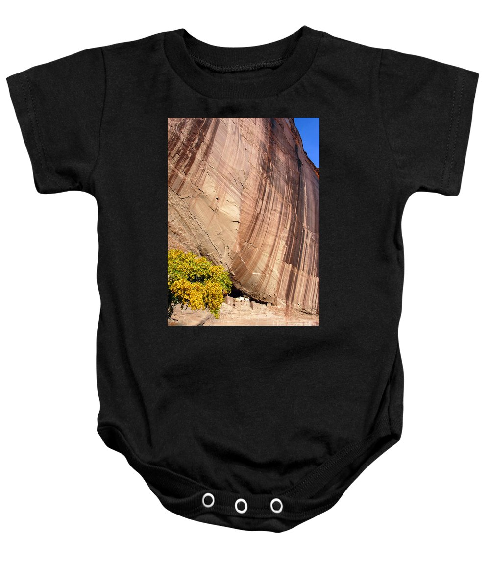 White House Baby Onesie featuring the photograph The White House by Bob Phillips