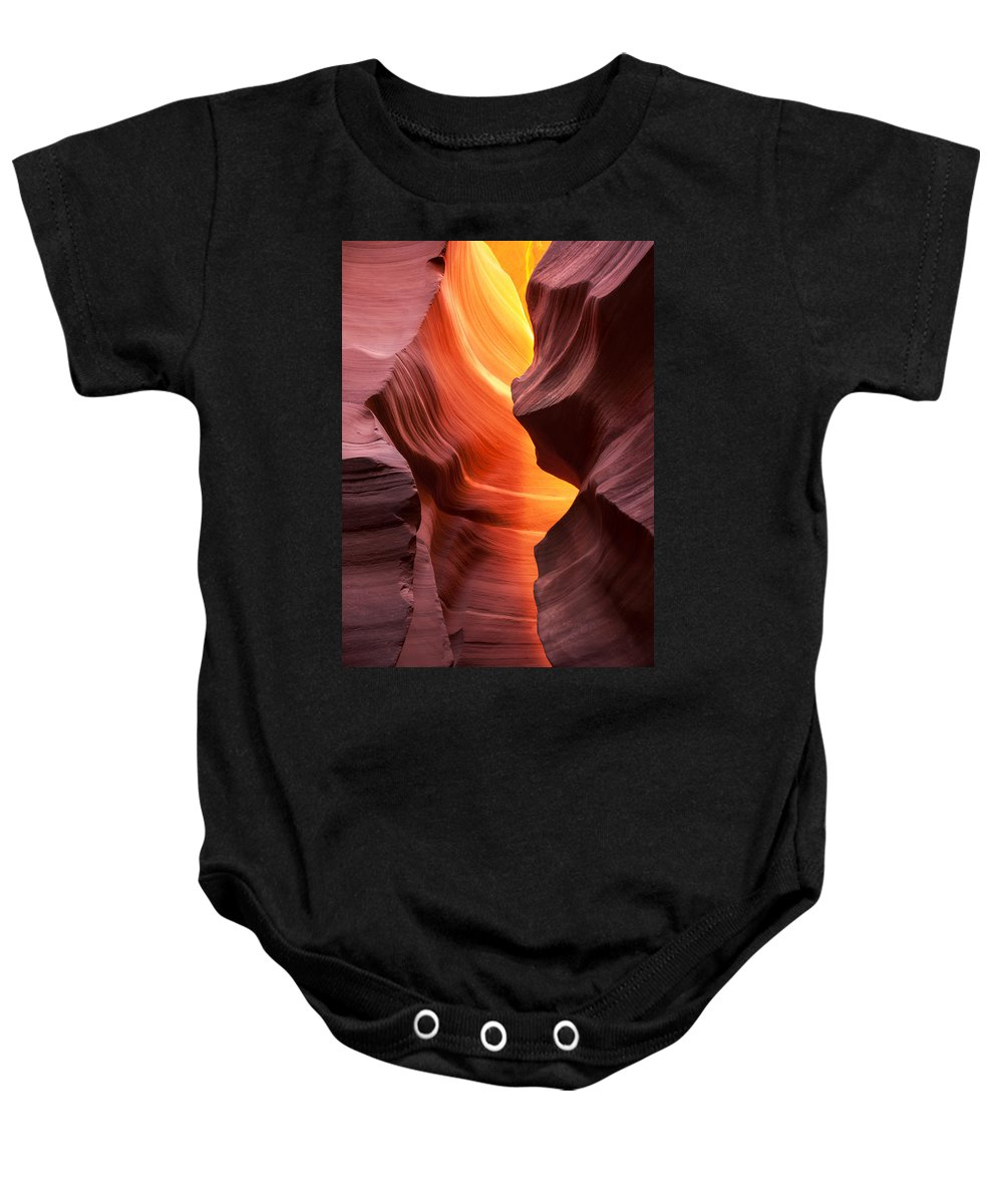 Antelope Baby Onesie featuring the photograph This Is The Moment by Angela King-Jones
