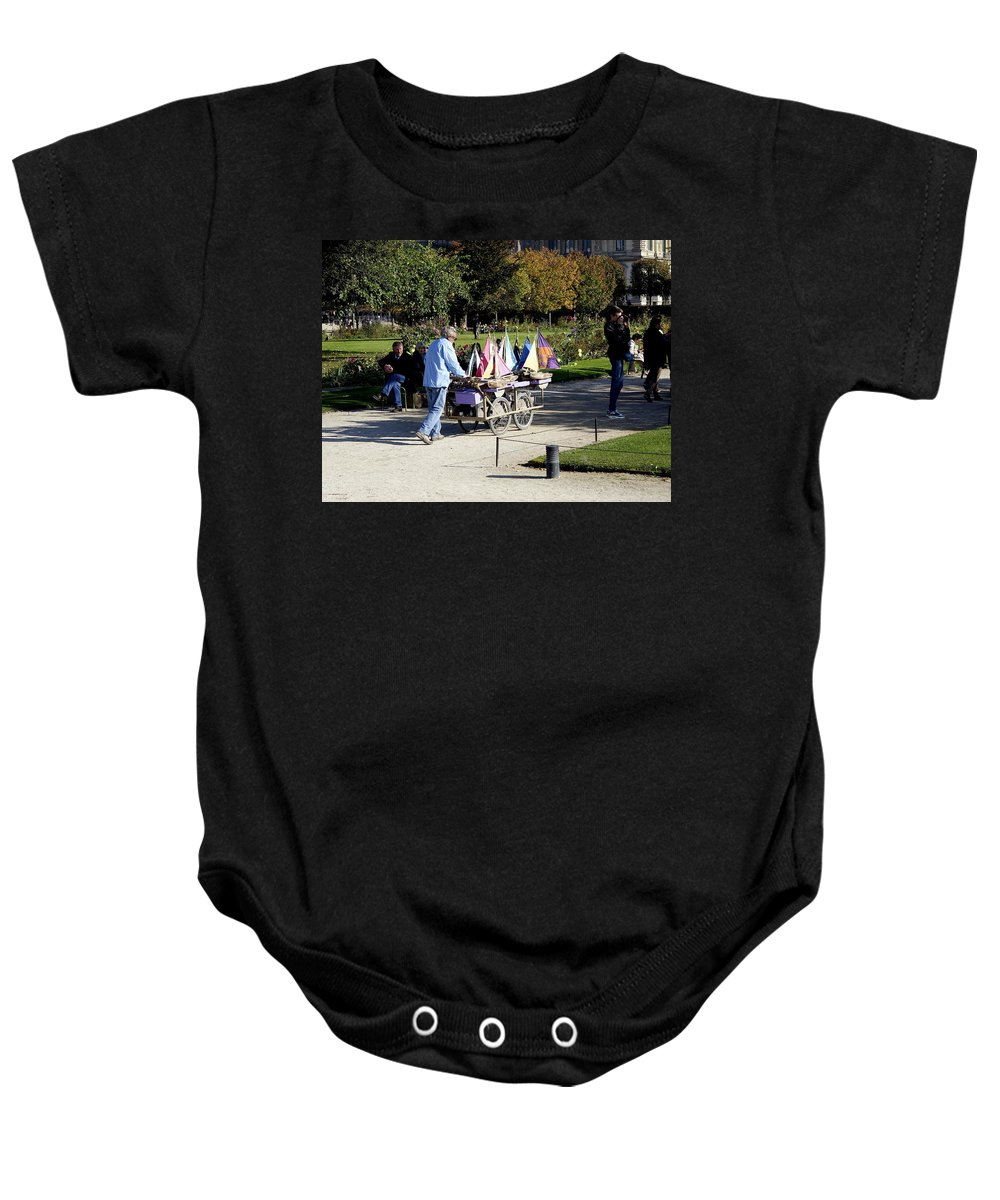 Paris Baby Onesie featuring the photograph Time To Sail Away 2 by Richard Rosenshein