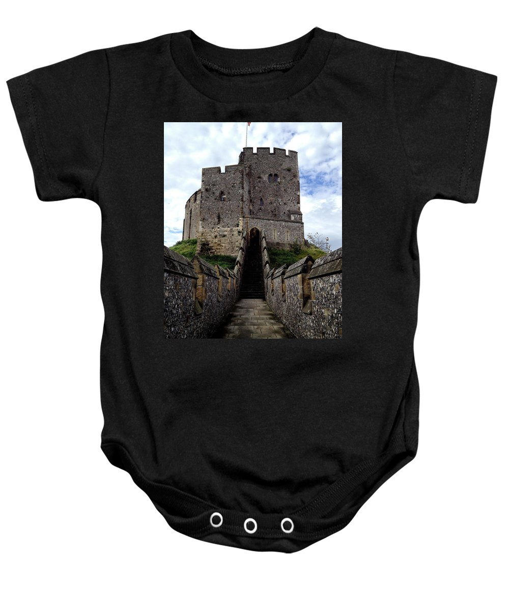 Photograph Baby Onesie featuring the photograph To The Tower by Nicole Parks