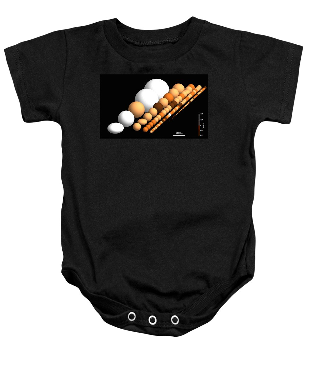 Science Baby Onesie featuring the photograph Trans-neptunian Objects by Science Source