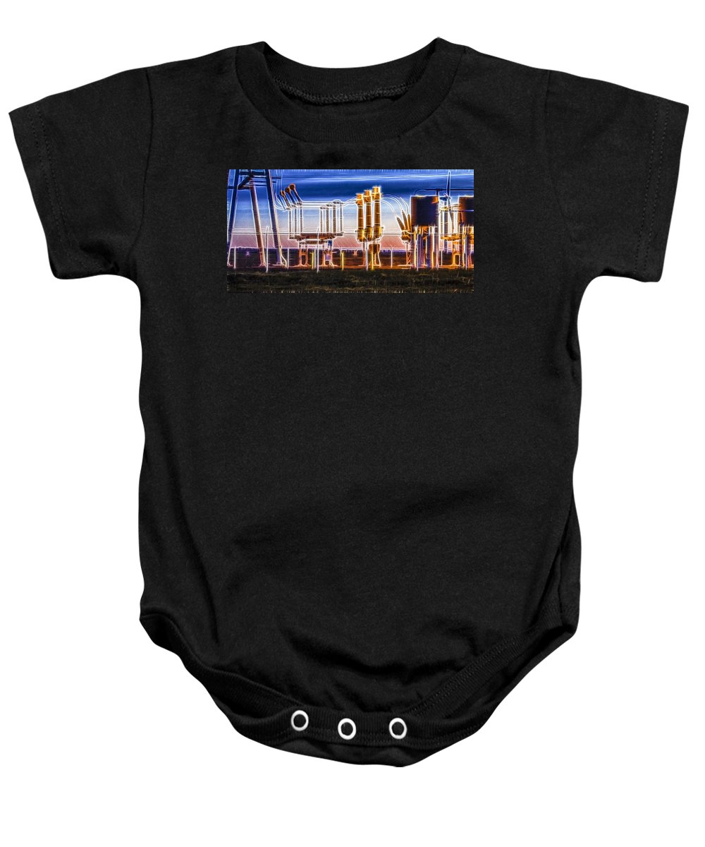 Oregon Baby Onesie featuring the photograph Transfer Of Power by Albert Seger