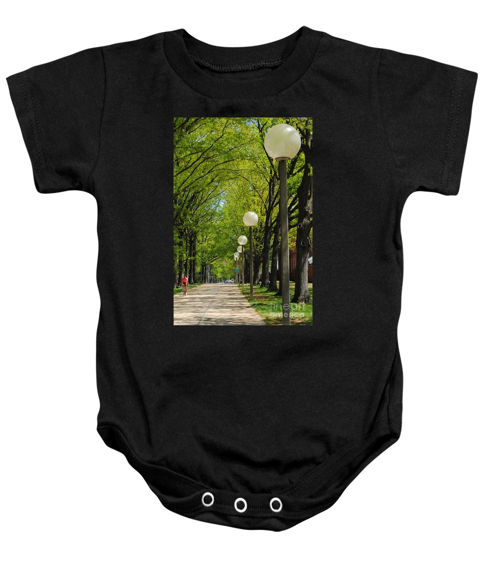 Tree Baby Onesie featuring the photograph Tree Ride by Jost Houk