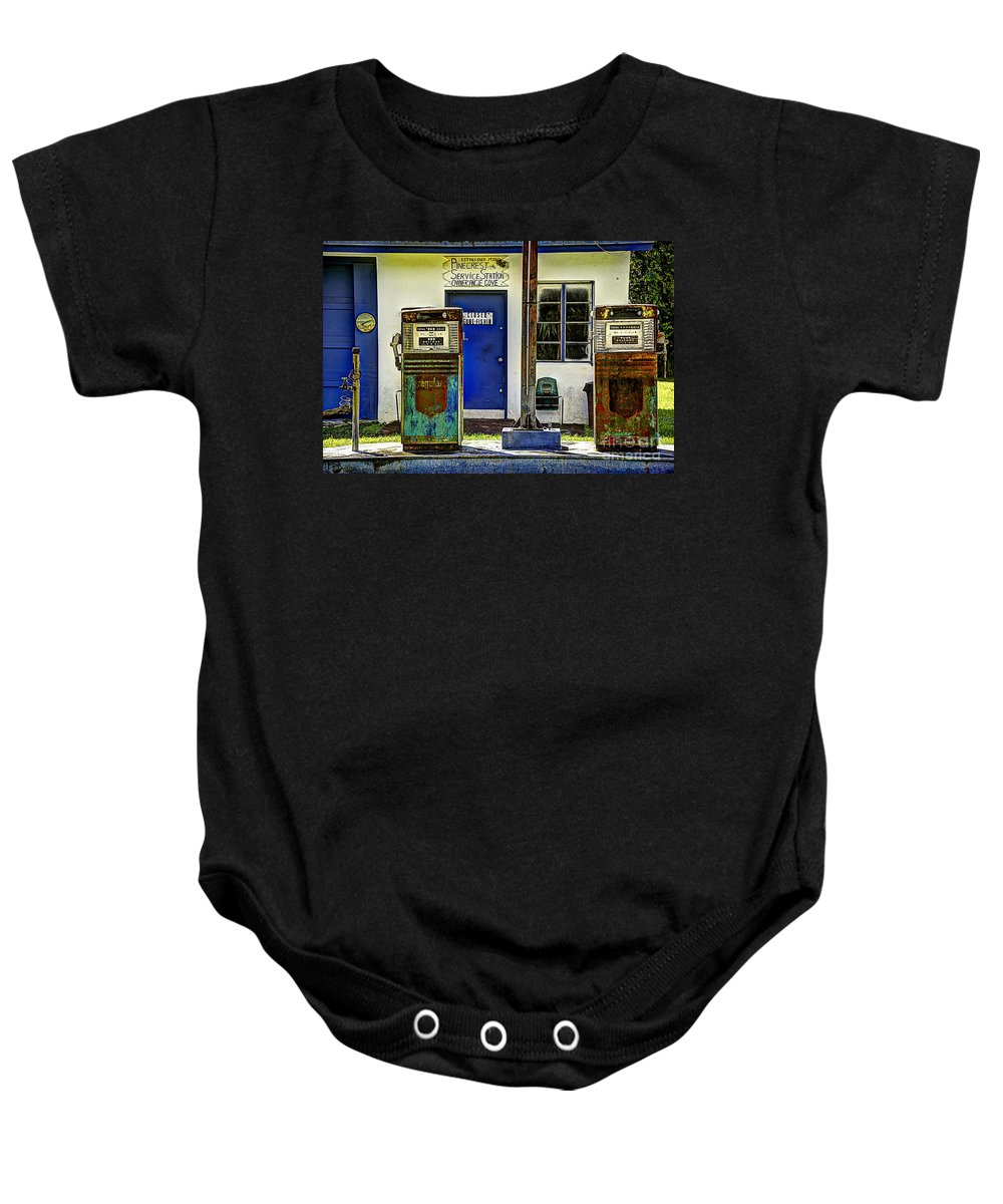 Pump Baby Onesie featuring the photograph Two Pumps by Bruce Bain