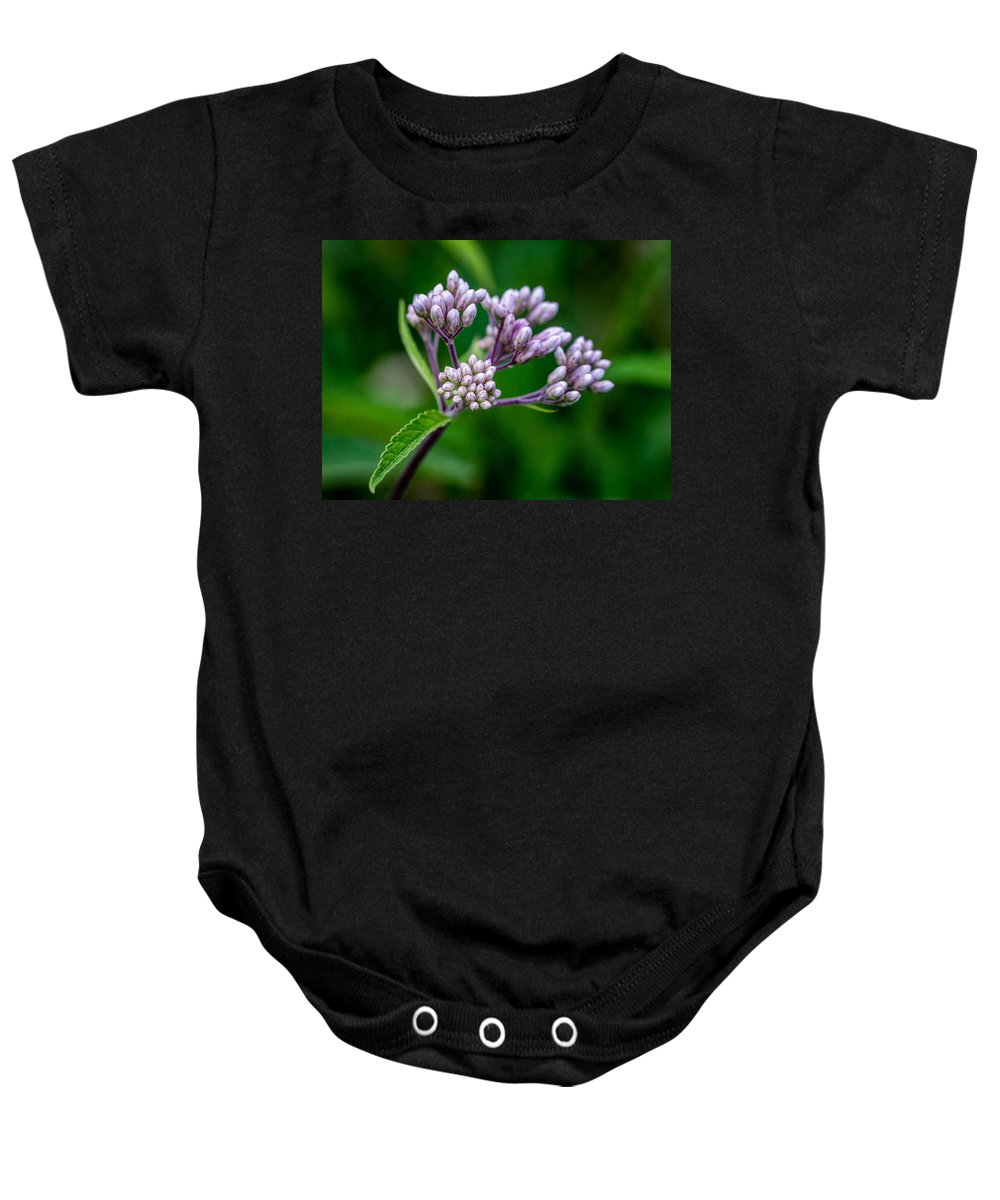 Bolton Baby Onesie featuring the photograph UFO by Steve Harrington