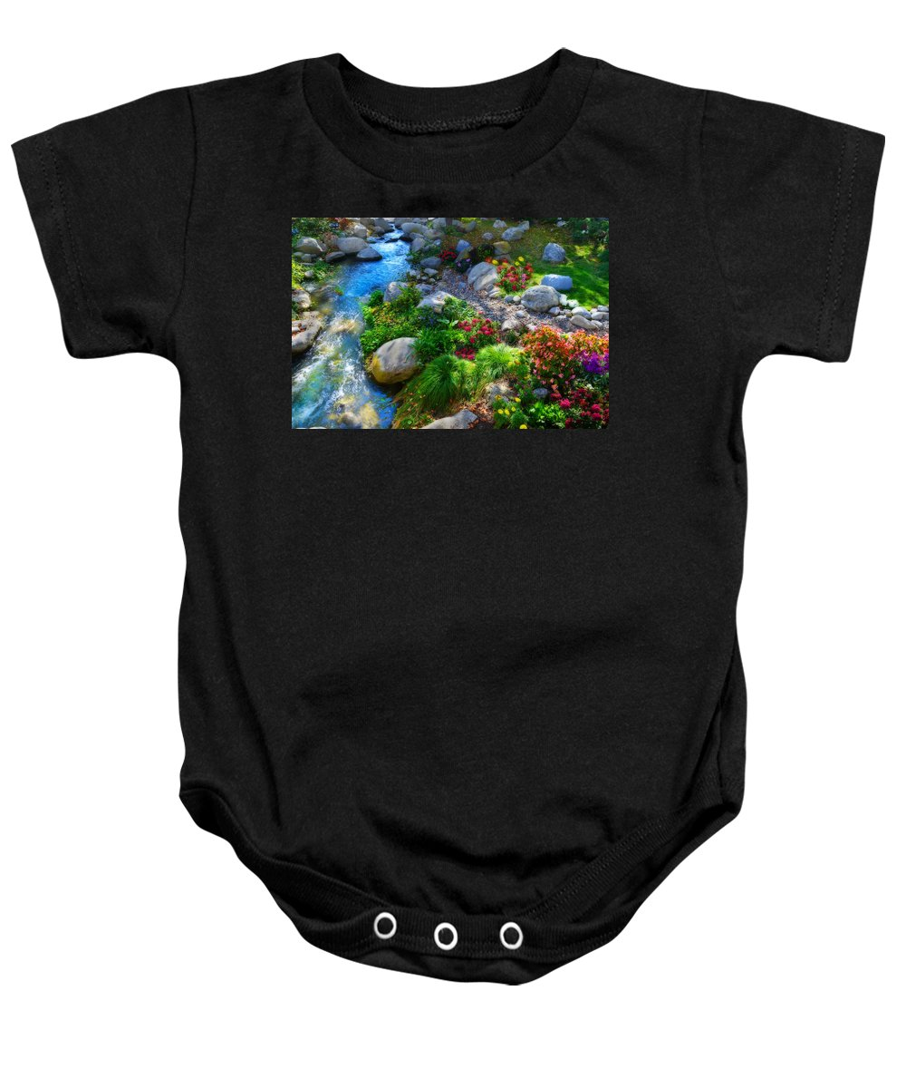 Beauty Baby Onesie featuring the photograph Unseasonable Beauty by Lynn Bauer