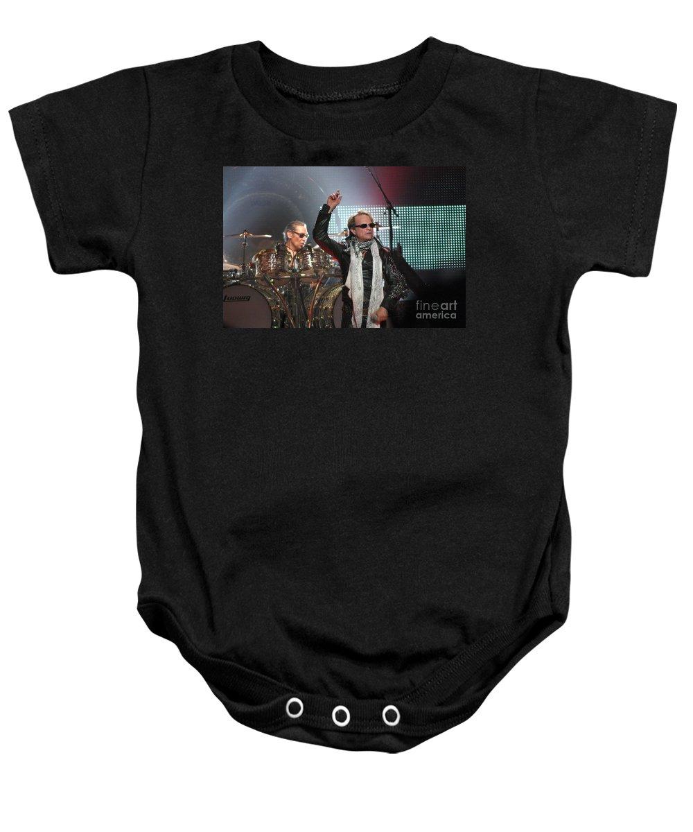 Van Halen Baby Onesie featuring the photograph Van Halen-7148 by Gary Gingrich Galleries