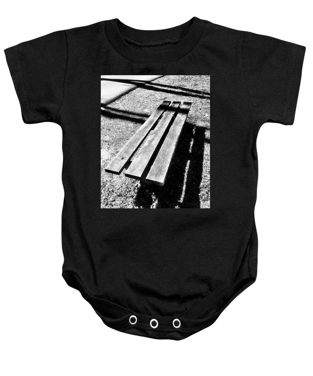 Park Baby Onesie featuring the photograph Waiting 2 by Michele Monk
