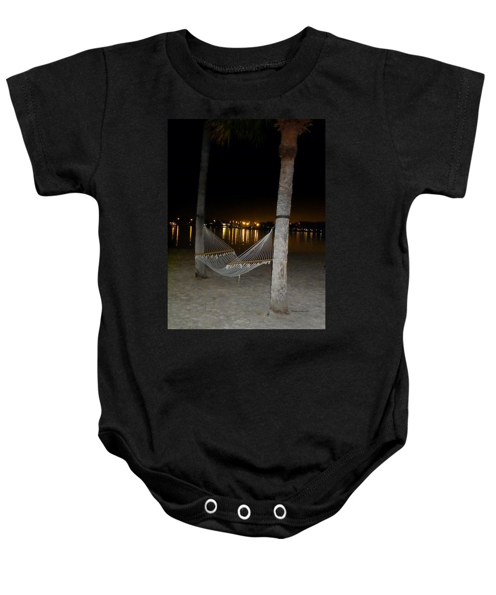 Hammock Baby Onesie featuring the photograph Waiting For You by Thomas Woolworth