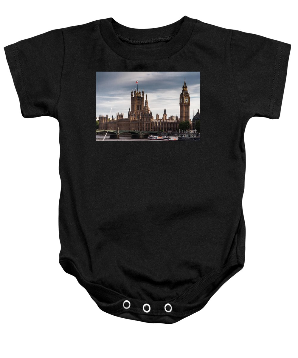 2012 Baby Onesie featuring the photograph Wesminster by Matt Malloy