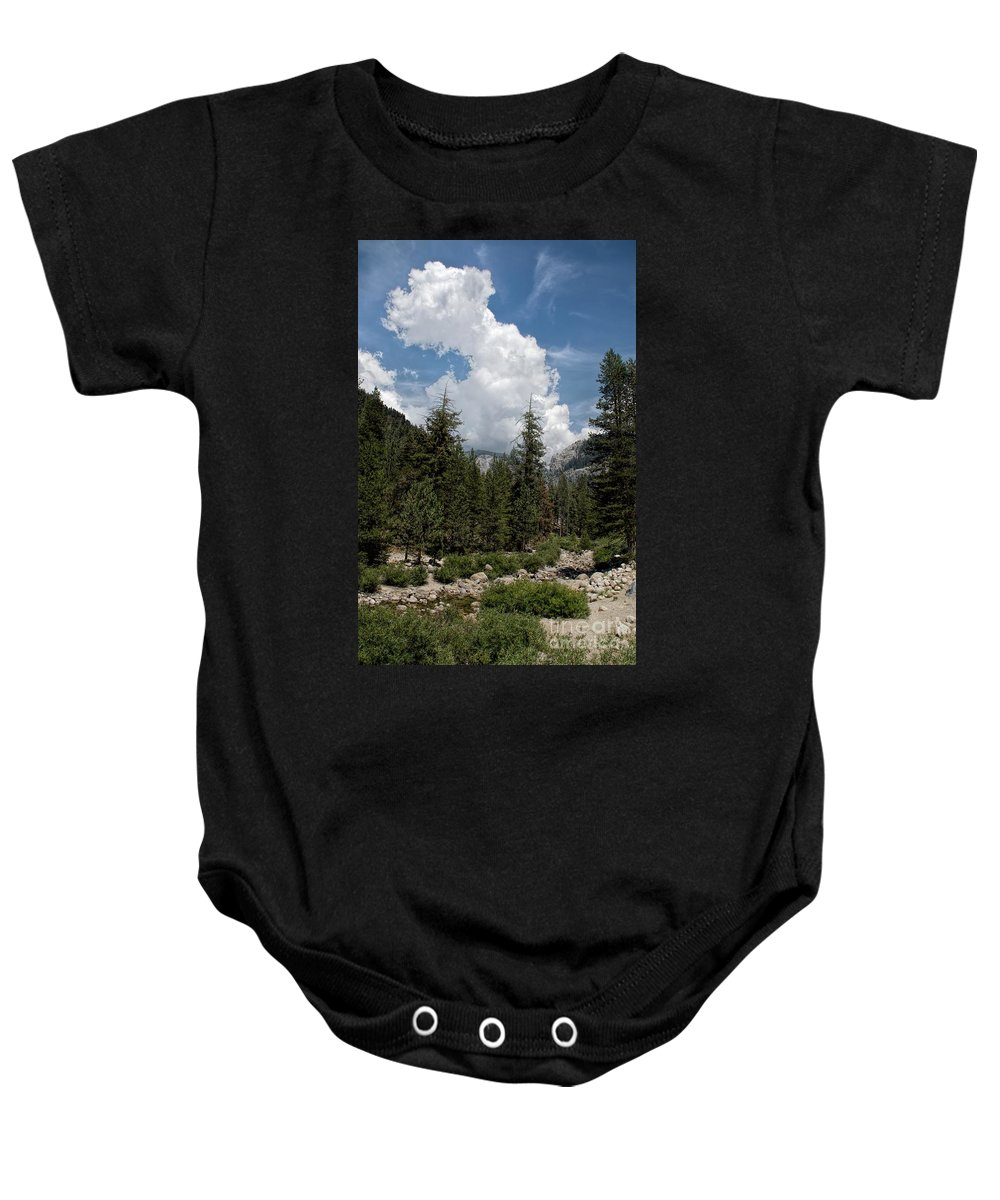 Trees Baby Onesie featuring the photograph Western Sierra Nevadas by Peggy Hughes
